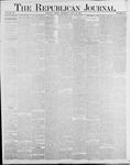 Republican Journal: Vol. 56, No. 31 - July 31,1884