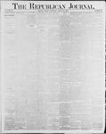 Republican Journal: Vol. 56, No. 34 - August 21,1884