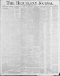Republican Journal: Vol. 56, No. 43 - October 23,1884