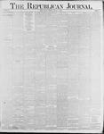 Republican Journal: Vol. 58, No. 2 - January 14,1886