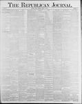 Republican Journal: Vol. 58, No. 11 - March 18,1886