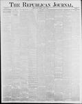 Republican Journal: Vol. 58, No. 13 - April 01,1886