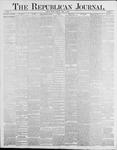 Republican Journal: Vol. 58, No. 17 - April 29,1886