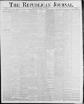 Republican Journal: Vol. 58, No. 21 - May 27,1886