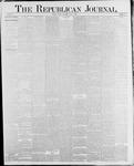 Republican Journal: Vol. 58, No. 22 - June 03,1886