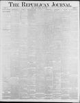 Republican Journal: Vol. 58, No. 29 - July 22,1886