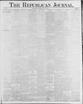 Republican Journal: Vol. 58, No. 30 - July 29,1886