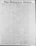Republican Journal: Vol. 58, No. 32 - August 12,1886