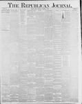 Republican Journal: Vol. 58, No. 44 - November 04,1886