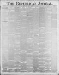 Republican Journal: Vol. 59, No. 2 - January 13,1887