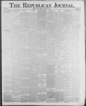 Republican Journal: Vol. 59, No. 4 - January 27,1887