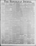 Republican Journal: Vol. 59, No. 13 - March 31,1887