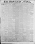 Republican Journal: Vol. 59, No. 21 - May 26,1887