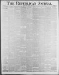 Republican Journal: Vol. 59, No. 23 - June 09,1887