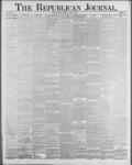 Republican Journal: Vol. 59, No. 24 - June 16,1887