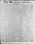 Republican Journal: Vol. 59, No. 25 - June 23,1887