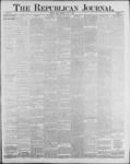 Republican Journal: Vol. 59, No. 27 - July 07,1887