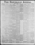 Republican Journal: Vol. 59, No. 28 - July 14,1887