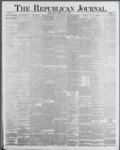 Republican Journal: Vol. 59, No. 29 - July 21,1887