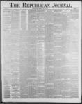 Republican Journal: Vol. 59, No. 30 - July 28,1887