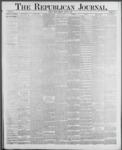 Republican Journal: Vol. 59, No. 32 - August 11,1887