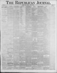 Republican Journal: Vol. 59, No. 33 - August 18,1887