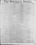 Republican Journal: Vol. 59, No. 34 - August 25,1887