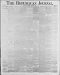 Republican Journal: Vol. 59, No. 35 - September 01,1887