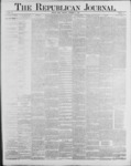 Republican Journal: Vol. 59, No. 37 - September 15,1887