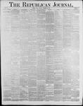 Republican Journal: Vol. 59, No. 39 - September 29,1887