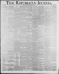 Republican Journal: Vol. 59, No. 40 - October 06,1887