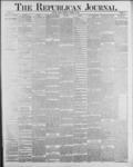 Republican Journal: Vol. 59, No. 41 - October 13,1887