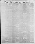 Republican Journal: Vol. 59, No. 43 - October 27,1887
