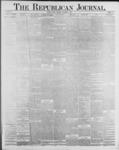Republican Journal: Vol. 59, No. 44 - November 03,1887