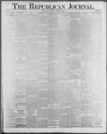 Republican Journal: Vol. 59, No. 45 - November 10,1887