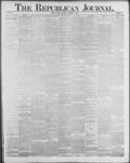 Republican Journal: Vol. 59, No. 46 - November 17,1887