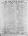 Republican Journal: Vol. 59, No. 47 - November 24,1887