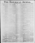 Republican Journal: Vol. 59, No. 50 - December 15,1887