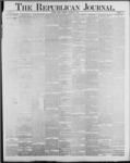 Republican Journal: Vol. 59, No. 52 - December 29,1887