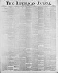 Republican Journal: Vol. 60, No. 3 - January 19,1888