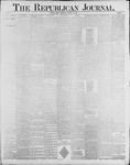 Republican Journal: Vol. 60, No. 4 - January 26,1888