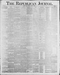 Republican Journal: Vol. 60, No. 11 - March 15,1888