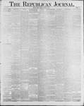 Republican Journal: Vol. 60, No. 13 - March 29,1888