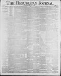 Republican Journal: Vol. 60, No. 20 - May 17,1888
