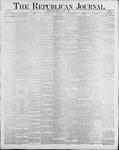 Republican Journal: Vol. 60, No. 32 - August 09,1888