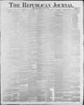 Republican Journal: Vol. 60, No. 33 - August 16,1888