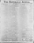 Republican Journal: Vol. 60, No. 34 - August 23,1888