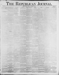 Republican Journal: Vol. 60, No. 38 - September 20,1888