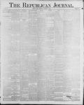 Republican Journal: Vol. 60, No. 39 - September 27,1888