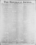 Republican Journal: Vol. 60, No. 41 - October 10,1888
